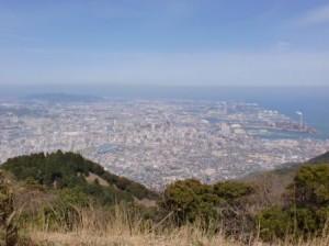 足立山山頂の画像