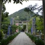 宮地嶽神社参道の画像
