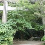 竈門神社の宝満山登山口の画像