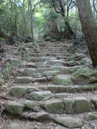【ブログ】宝満山の難易度について