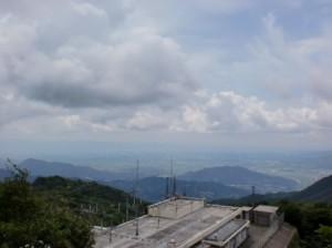 三郡山頂からの眺望の画像