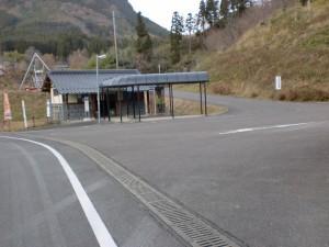 九重インターチェンジバス停の画像