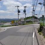 立花小学校そばの信号の画像