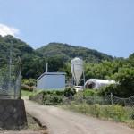 立花山登山口少し手前付近の画像