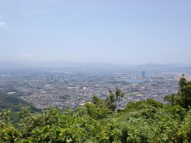 立花山の登山口 立花小学校と梅岳寺にバスでアクセスする方法