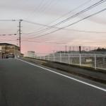 JR原田駅南側の鉄橋前の画像