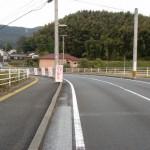 JR原田駅南側の鉄橋を渡ったところの画像