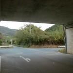 県道17号線の高架下の画像