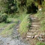 基山のお滝の行場登山口の画像