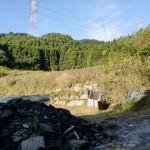基山登山口手前の開けた場所の画像