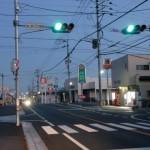 浦ノ原バス停前交差点の画像
