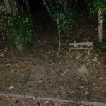 片縄山登山道入口の画像