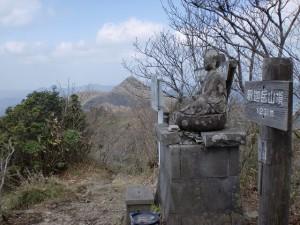 釈迦ヶ岳山頂(福岡県矢部村)の画像