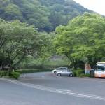 求菩堤資料館前バス停(豊前市バス)の画像