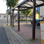 宇島駅前バス停(豊前市バス)の画像