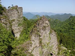 地獄峠の景(鹿嵐山登山道)の画像