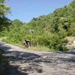 鹿嵐山第二登山口入口の画像