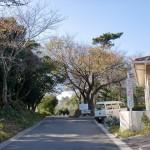 長崎鼻リゾートキャンプ場入口の画像