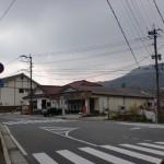 別所口バス停前のT字路の画像