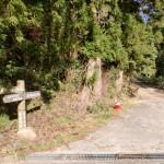 川内山林道の入口の画像