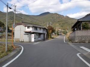 川内バス停前の辻の画像
