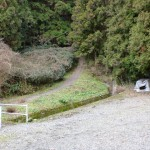 不動山の虚空蔵山登山口駐車場の画像