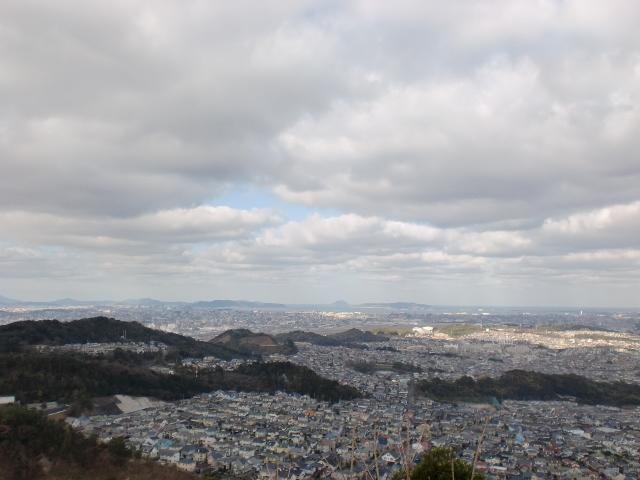 井野山頂からの眺望の画像