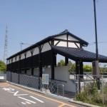 人吉IC乗降口バス停の画像