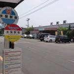 JR水俣駅と産交バス・みなくるバス(おれんじバス)の水俣駅前バス停