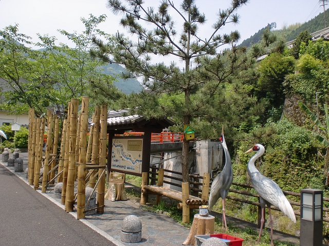 矢筈岳(水俣)の登山口 湯の鶴温泉にバスでアクセスする方法