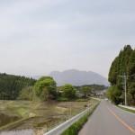 国道442号線から見る九重連山の画像