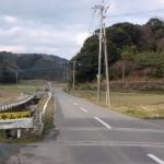 柑子岳登山口への入口の画像