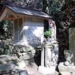 女天ヶ岳登山口の不動明王像の画像