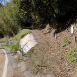 灘山ピクニック道入口の画像