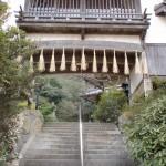 大徳寺境内の階段の画像