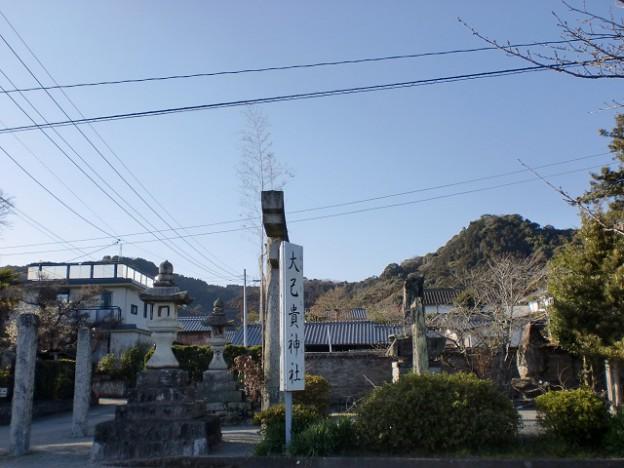 大己貴神社参道入口の画像