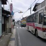 草野上町バス停前の画像