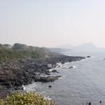 鐙瀬園地(鐙瀬公園)の海岸線の画像