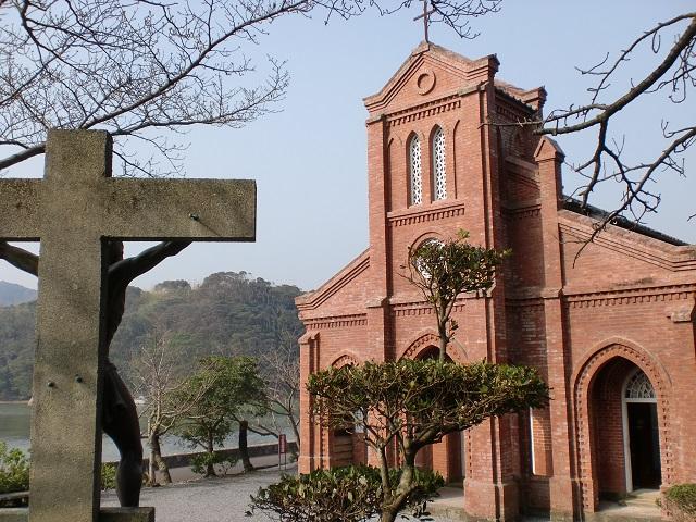 福江から堂崎天主堂とドンドン渕にアクセスする方法
