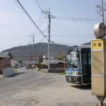 芥屋バス停(昭和バス)の画像