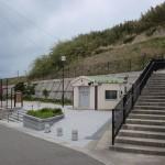 遠見山登山口のある玄界百合若公園の画像