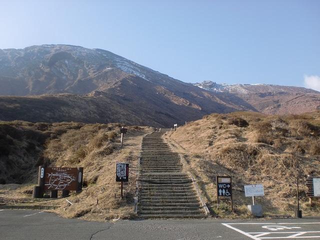 阿蘇中岳の登山口 仙酔峡に宮地駅から徒歩でアクセスする方法