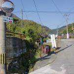清祀殿手前にある踏切(福岡県香春町)の画像