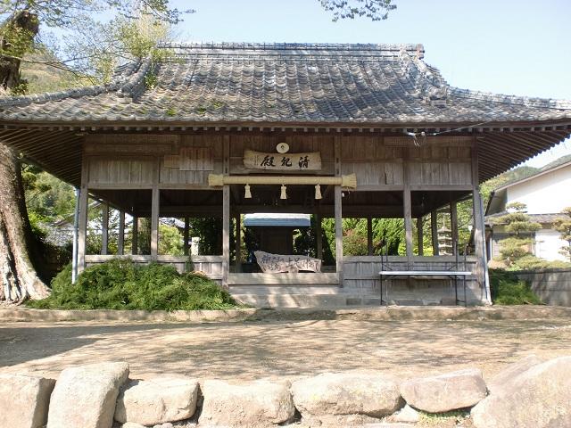 香春岳・牛斬山の登山口 五徳峠と清祀殿にアクセスする方法