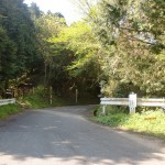 牛斬山、香春岳の登山口となる五徳峠(五徳越峠)の画像