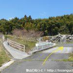 牛斬山の登山口(採銅所側)の手前の橋を渡る地点