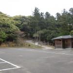 権現山森林公園の駐車場(対馬・西泊)の画像