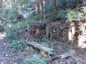 洲藻5号基(洲藻白岳登山道に残る炭窯跡5)の画像