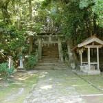 梵字鳥居(正平寺・桧原山)の画像