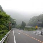 女淵バス停そばの国道266号線から県道288号線への入口の画像